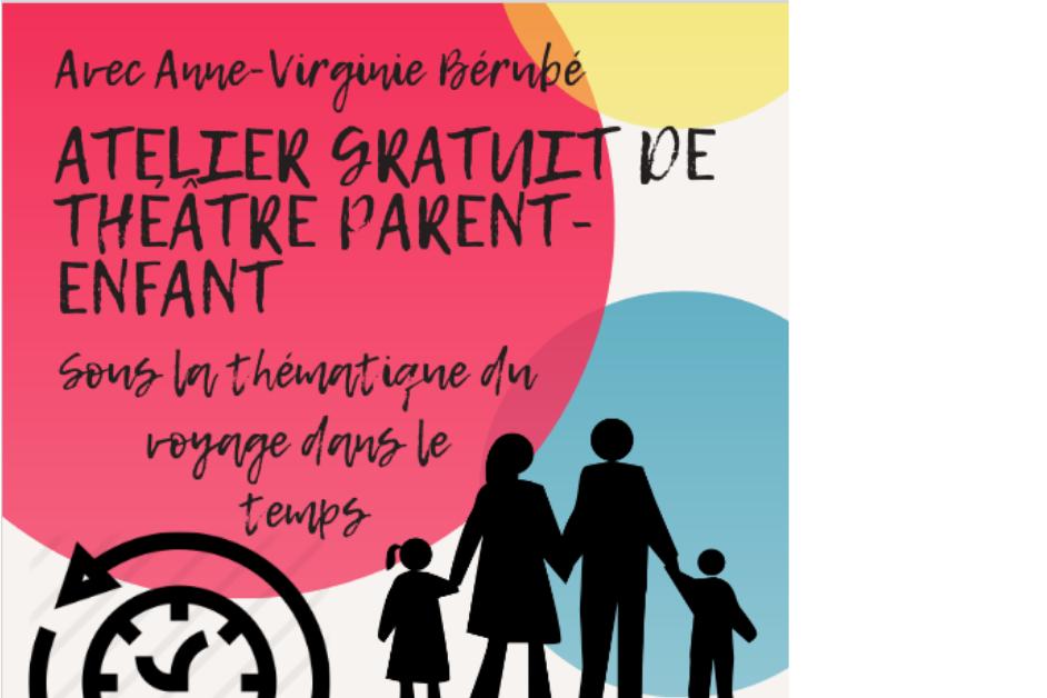Atelier d'initiation au théâtre parent-enfant